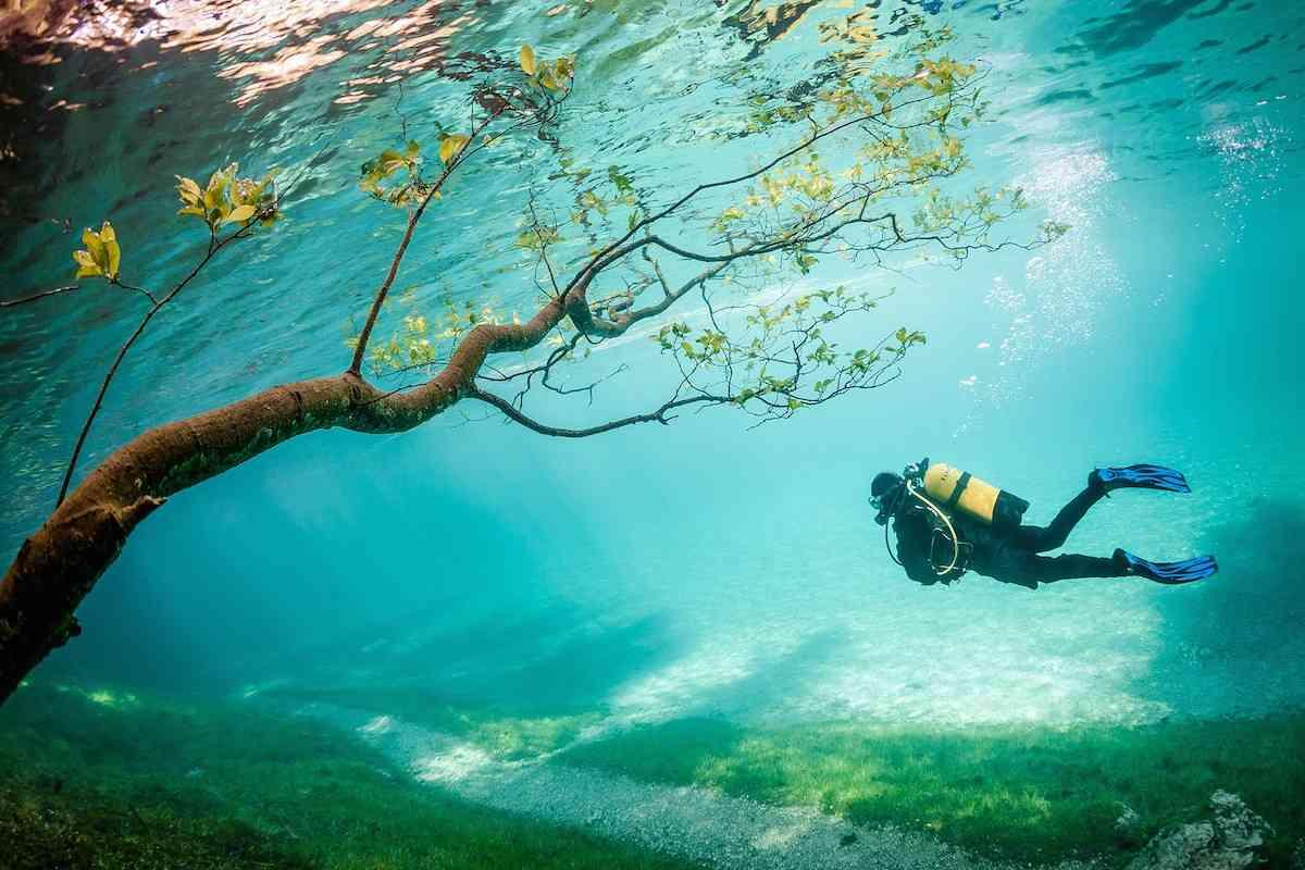 Underwater Park | Tragöss, Austria.