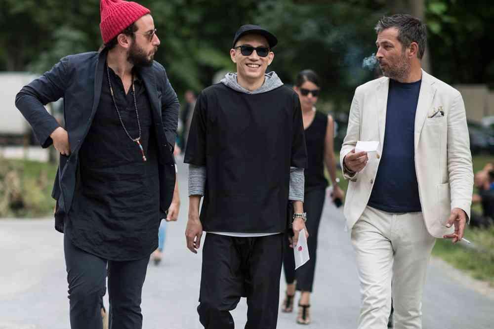 STREET STYLE Paris Fashion Week #PFW - Menswear SS15 - DAY TWO